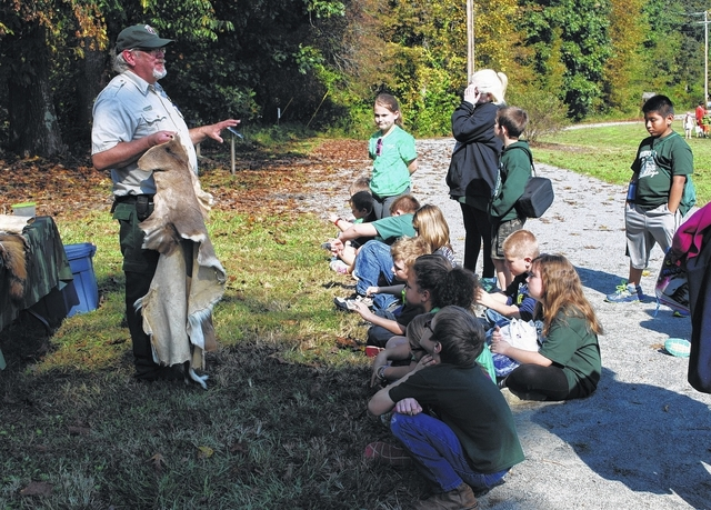 Overmountain Victory Trail Day at Elkin Municipal Park shares history with Surry, Wilkes students