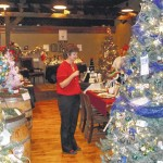 Surry SCAN auctioning Christmas trees at Old North State Winery