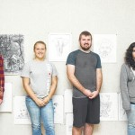 Surry Community College art students hold art show