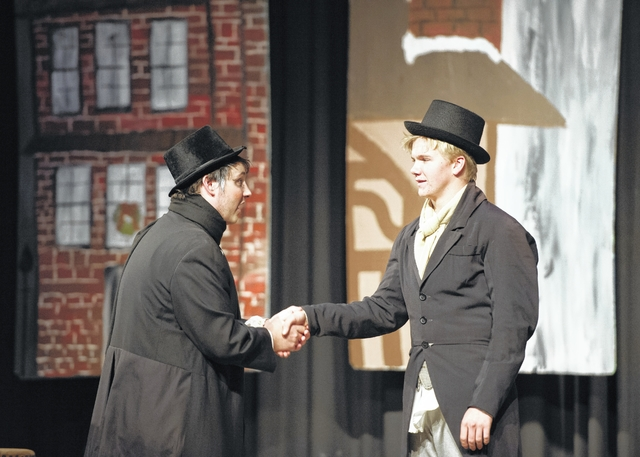 Elkin students stage Christmas classic