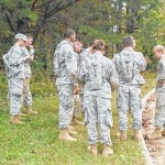 Elkin HS JROTC Raiders compete at East Surry HS