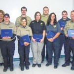 Sheriff's office employees receive detention officer certification with perfect pass rate