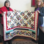 Quilt to be used for second raffle