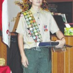 Jones earns Eagle Scout rank