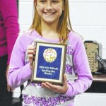 Fourth-grader Maggie Tomlin wins Elkin City Schools spelling bee