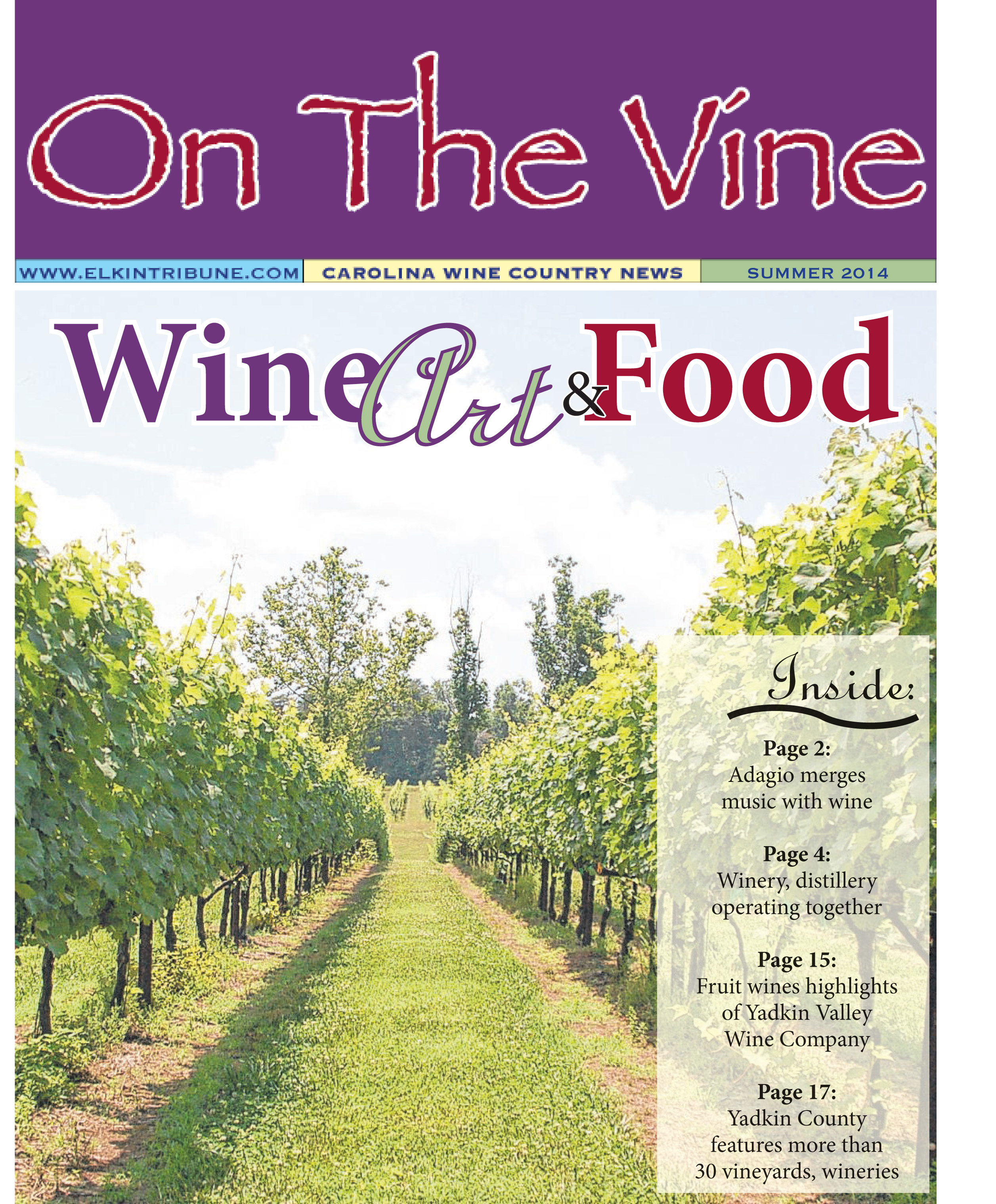 On the Vine – Summer 2014