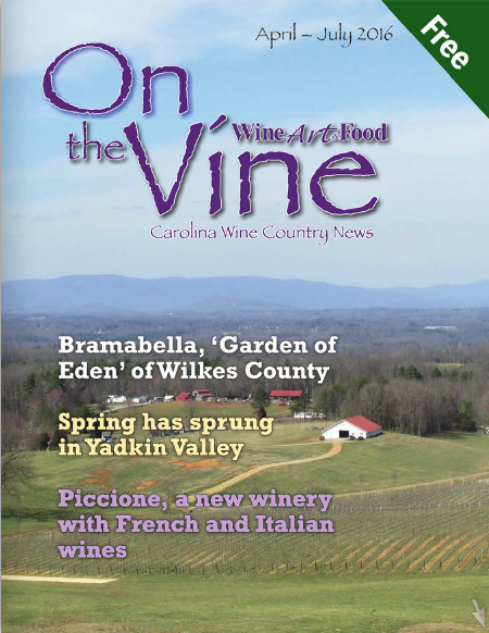On the Vine: April-July 2016