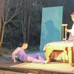 'Cat' moves inside for final performance
