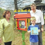 Little Free Library set up at park