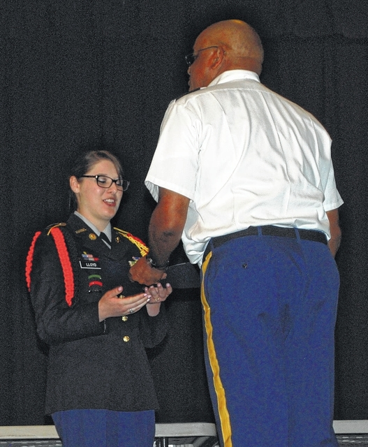 Elkin JROTC cadets receive honors during annual awards ceremony