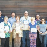 College programs recognized for exemplary test scores, employees acknowledged for meritorious service