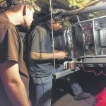 Surry HVAC students help DAV through learning project