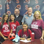 Hurst signs with Guilford College