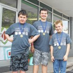Trio takes first at NC Science Olympiad
