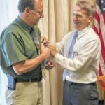 Rotary inducts new member