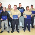 Seven receive detention officer certification at SCC