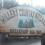 Millers Country Kitchen offers breakfast all day