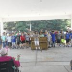 Middle-schoolers perform at Chatham Nursing