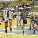 Elks volleyball earns win over Rams