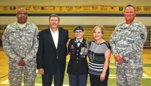 Lloyd takes reins as JROTC commander