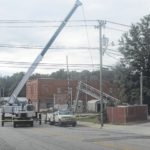 Railroad crossing repaired in Elkin