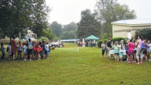 Overmountain Victory Trail Day educates students