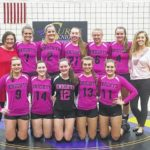 Surry volleyball raises awareness for breast cancer