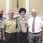 Reece honored as Eagle Scout