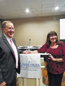 Former Yadkin Valley Chamber CEO named North Carolina Chamber Executive of the Year for 2016
