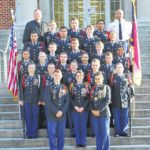 JROTC presents cadet groups