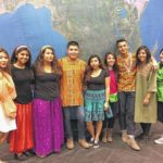 High-schoolers bring international flair to younger students