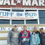 Community asked to Stuff the Bus