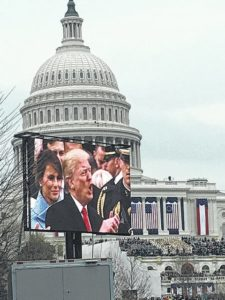 Elkin family attends inauguration