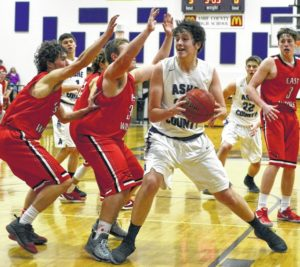 East Wilkes battle to a three-point win