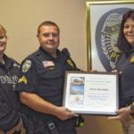 Hall honored as EPD Employee of Year