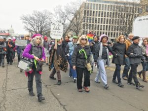 March symbolizes 'love' for local participants