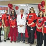 Staff, patients of Hugh Chatham Memorial Hospital wear red to bring awareness to heart health