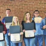 Marketing students earn certification