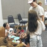 Preschool Story Hour at Elkin Public Library had special party in celebration of librarian Wendy Giudici retirement