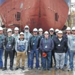 SCC Machining Club tours Charleston shipyard, gains industry insight