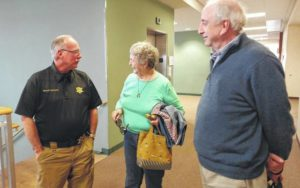 Surry County Sheriff Graham Atkinson thanks Democratic Party as officials prepare to select his replacement