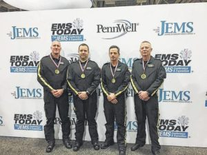 SCC instructors win 'EMS Today' Competition