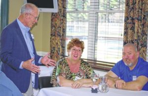 Yadkin Valley Chamber of Commerce holds elected officials reception at Cedarbrook Country Club in Elkin