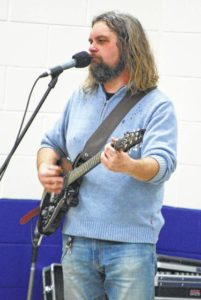 Music in our Schools comes to Elkin Elementary School during lunch