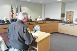 Combs assumes sheriff position