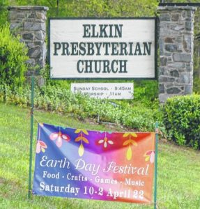 The Elkin Presbyterian Church will hold an Earth Day Festival with education, music, food, fun for families