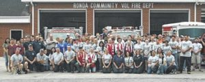 Yandell and Alexander Fonesca memorialized by Wilkes County fire departments, C.B. Eller Elementary students