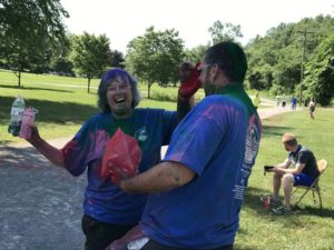 VIDEO: Hope Swaim benefited by Sports Ministries Color Run